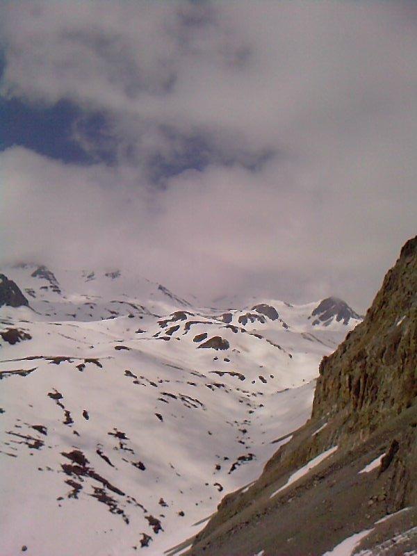 pic du lac blanca salendo al colle etroit du vallon