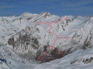 Percorso Monte La Vigna