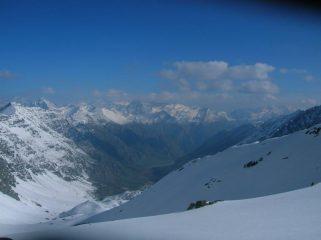 Il vallone visto dall'alto