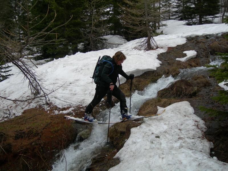 Lo scialpinismo è anche questo