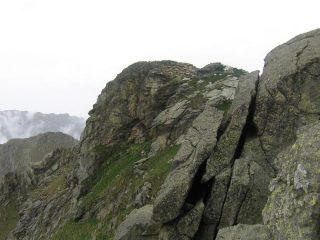 La Punta del Pianello dal sentiero di cresta