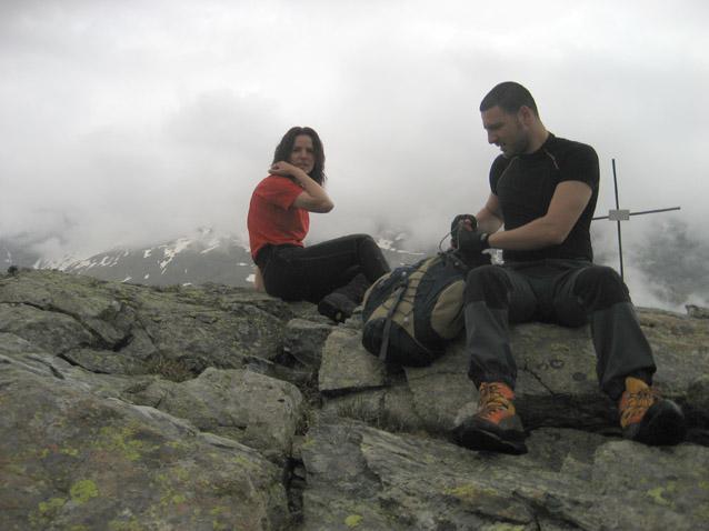 Irina ed Ale sulla punta