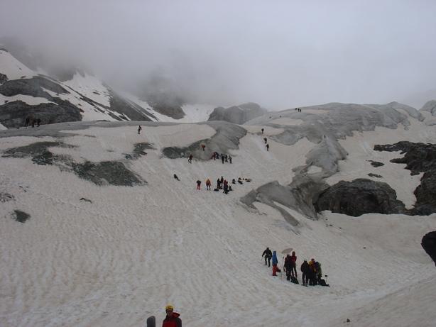 scuole di alpinismo all'opera