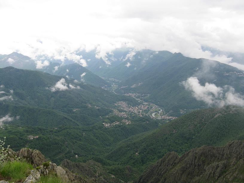 Viù vista dalla cima