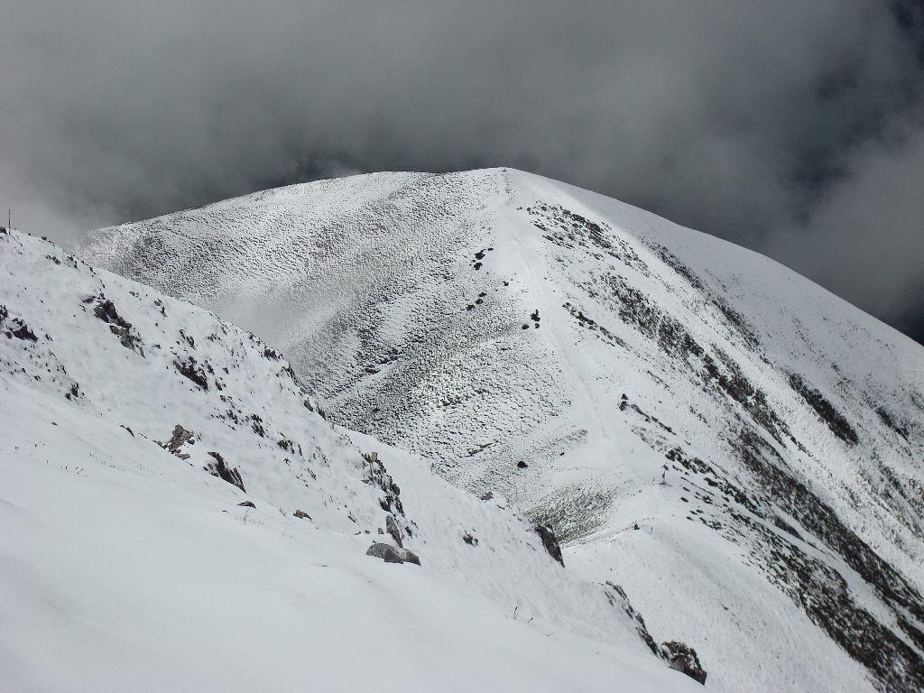 Monte Pianard visto dalla Rocca d'Orel