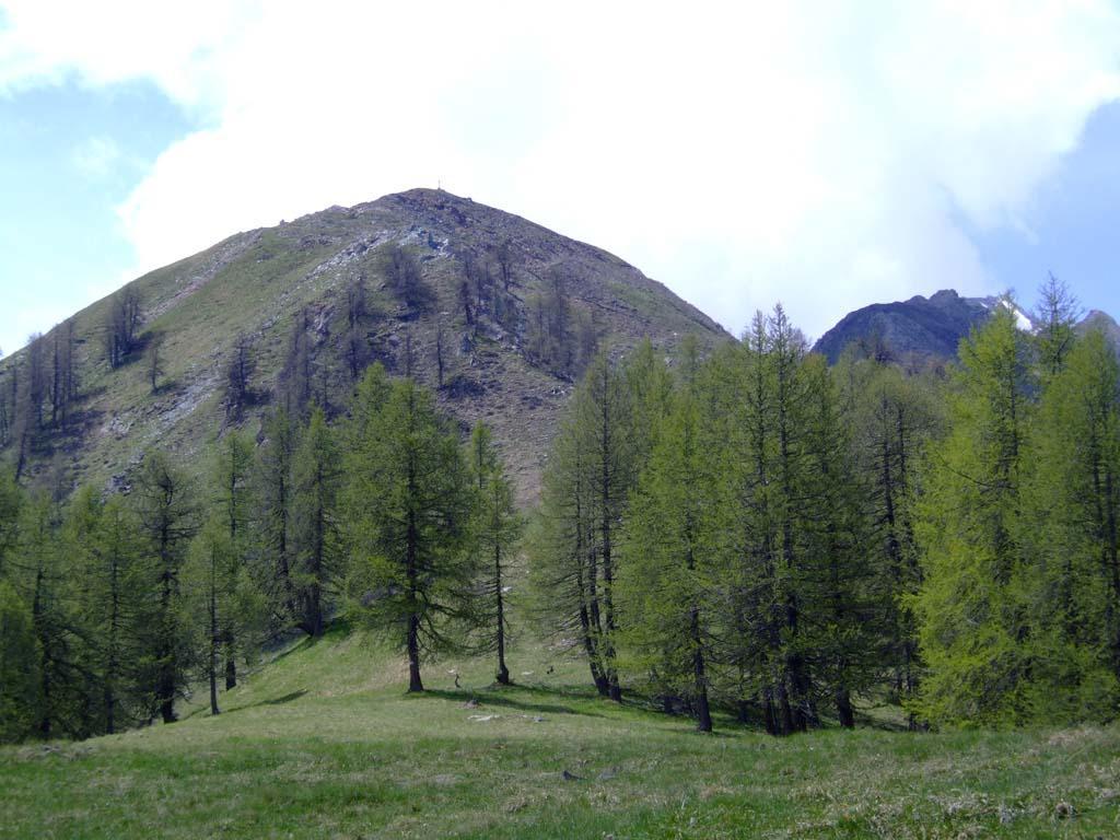 La punta dal Col Petit Mont Blanc