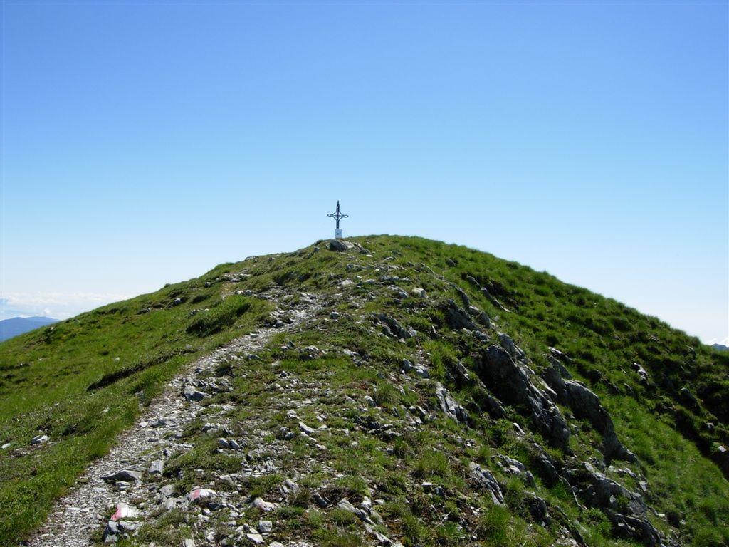 Verso la croce di vetta