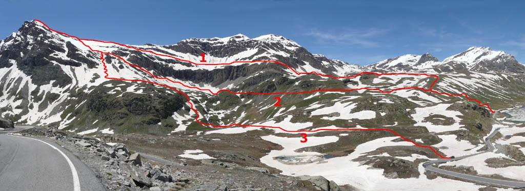 Basei (Punta) dal Colle del Nivolet 2008-06-19
