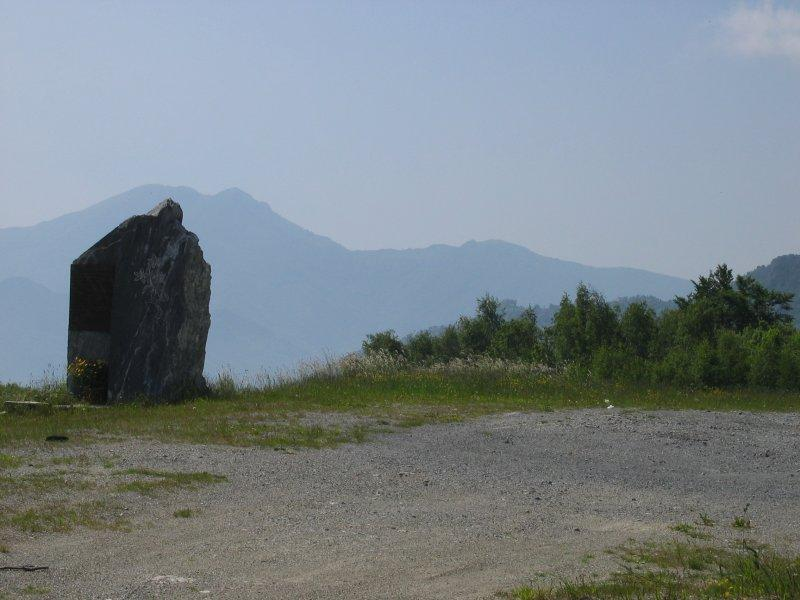 Panorama verso la Val Tanaro