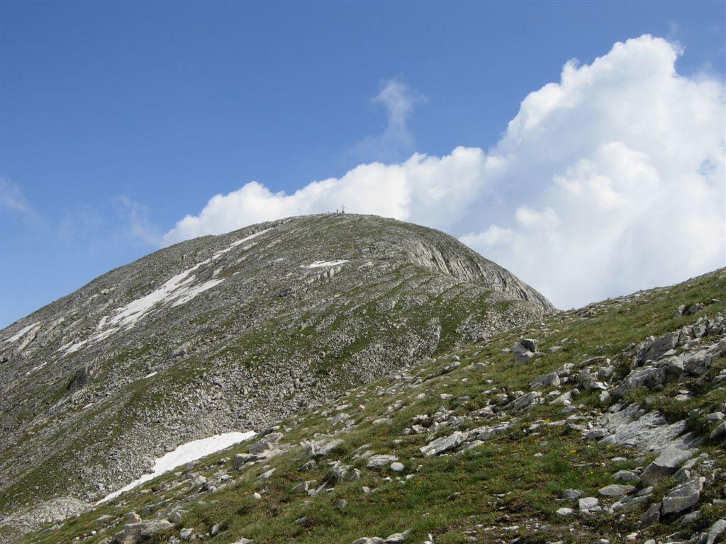La cima del Marguareis