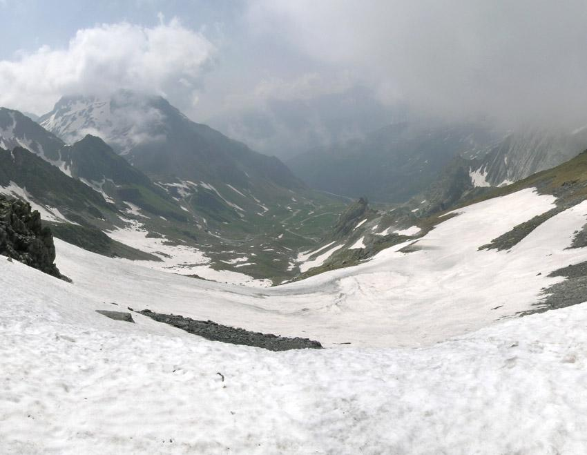 Col di Fonteinte (hiver) versante italiano