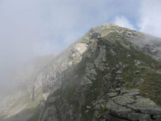 La cresta sud di Punta Perra