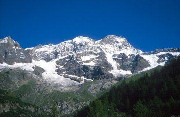 Monte Rosa dal rifugio Pastore