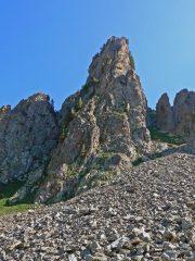 Petit Cayre cresta sud