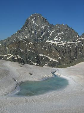 inizio ghiacciaio e bessanese