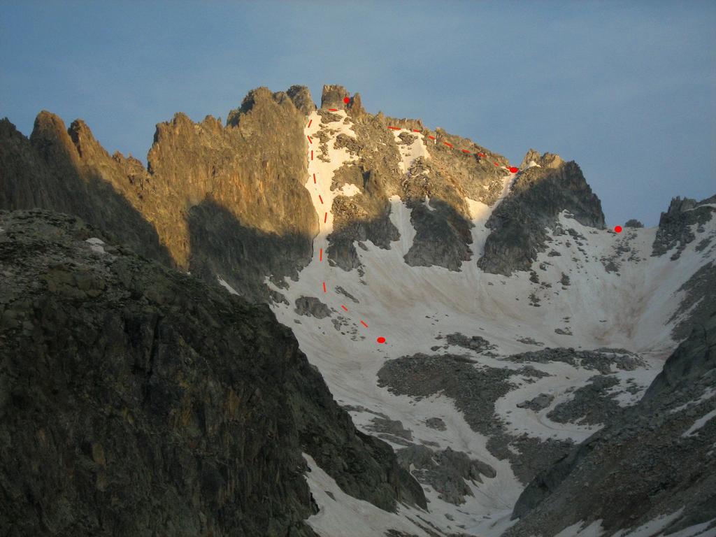itinerario alpinistico