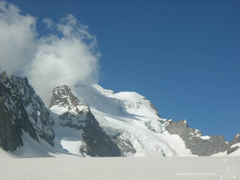 finalmente su ghiacciaio foto m.conti