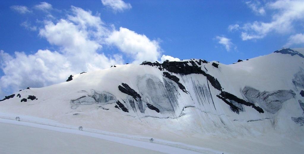 la cresta est del monte cristallo