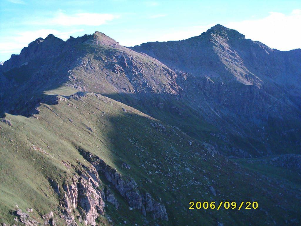 punta Cruvin e Lunella viste dalla Rocca Patanua