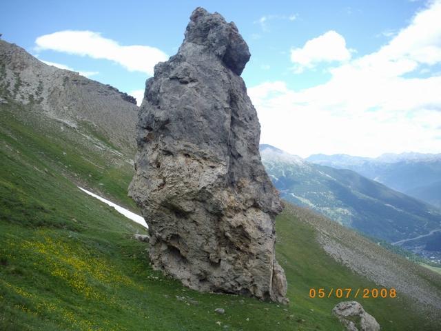 roccia curiosa