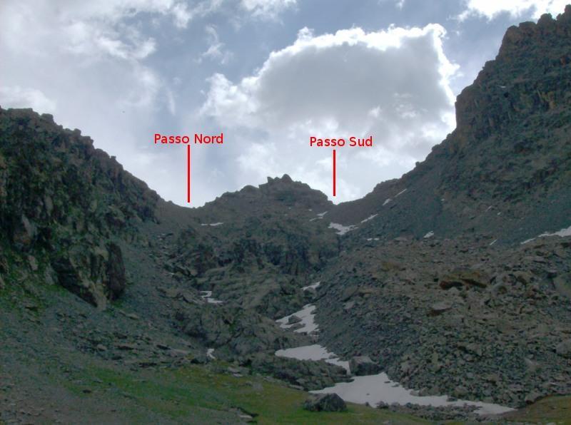 Il Passo dei Duc dal bivio per il Passo di San Chiaffredo