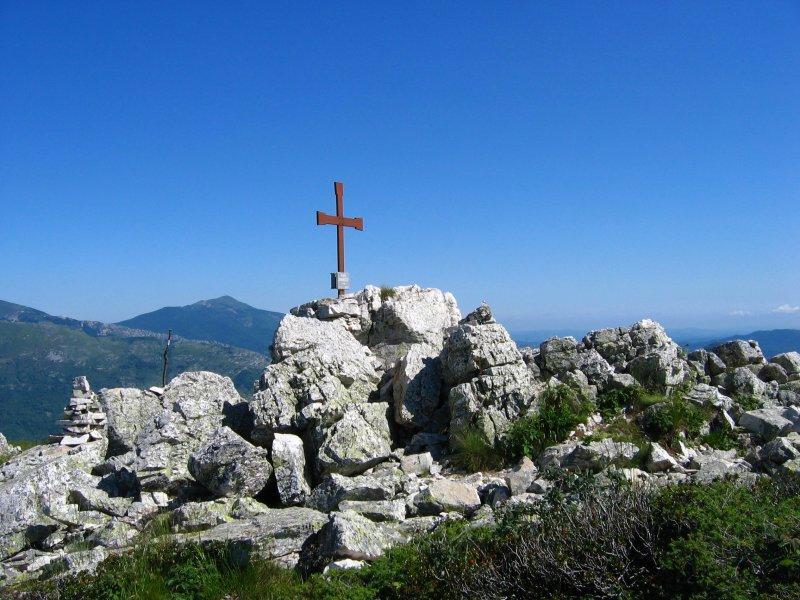 Croce di vetta del Dubasso