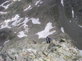 ultimi metri prima della cima