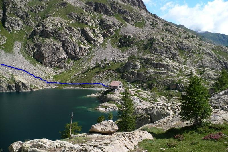 rifugio Valmasque e Lac Vert