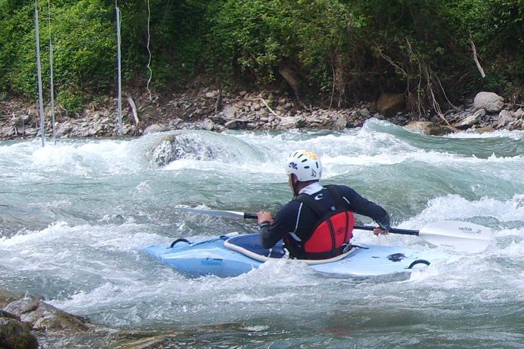 La rapida di ingresso al campo slalom -Rana-