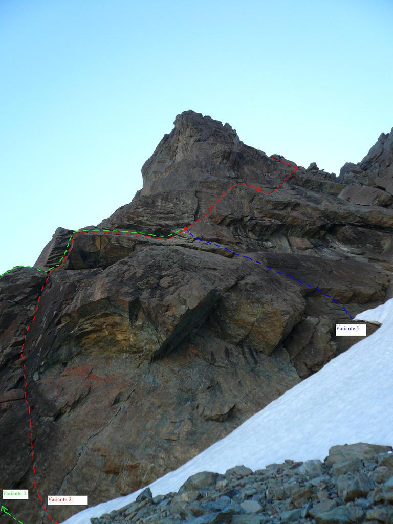 Crampiolo (Pizzo), cima Sud Parete O 2008-07-19