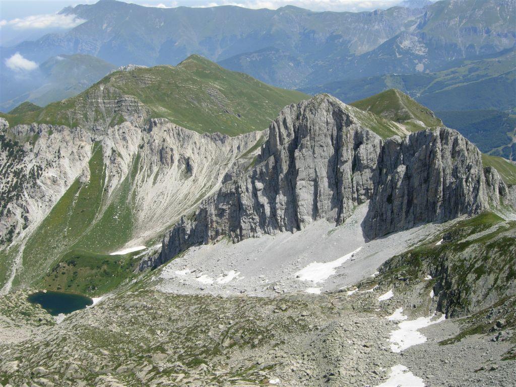Il Ciamoussè e Lago Alberg