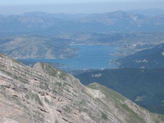 Il lago di Campotosto