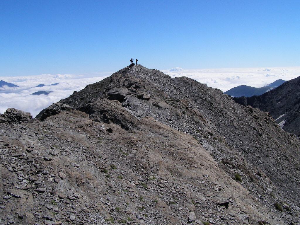 La cima del Monte Appenna