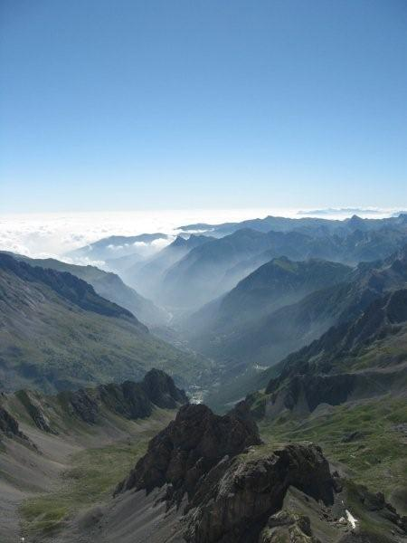 Vista sulla valle Maira