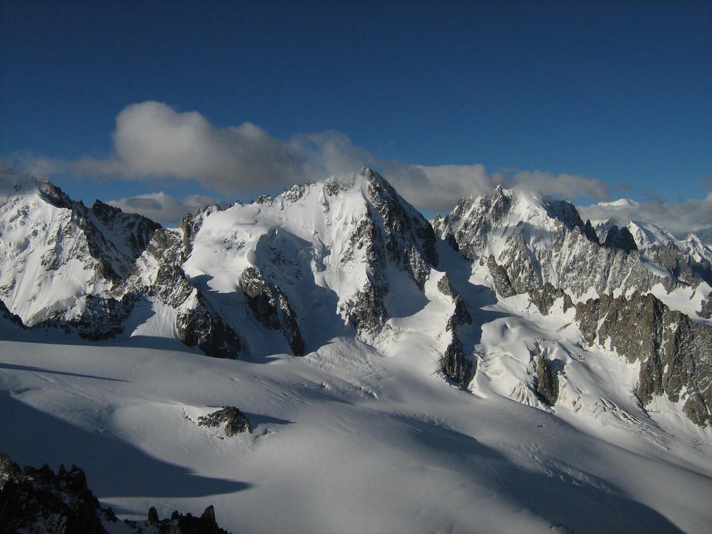 panorama sul gruppo del Bianco