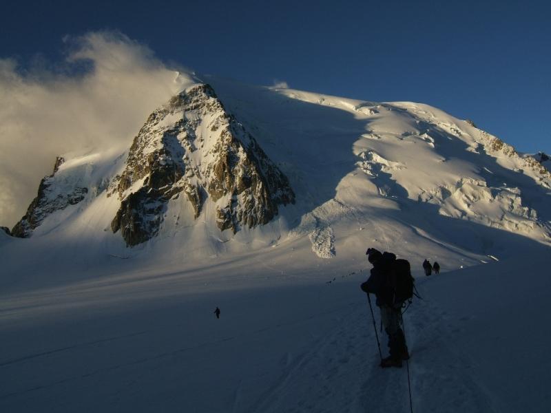 Il Tacul dal Col du Midi