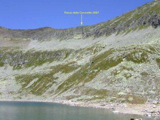 il passo visto dal lago di camposecco