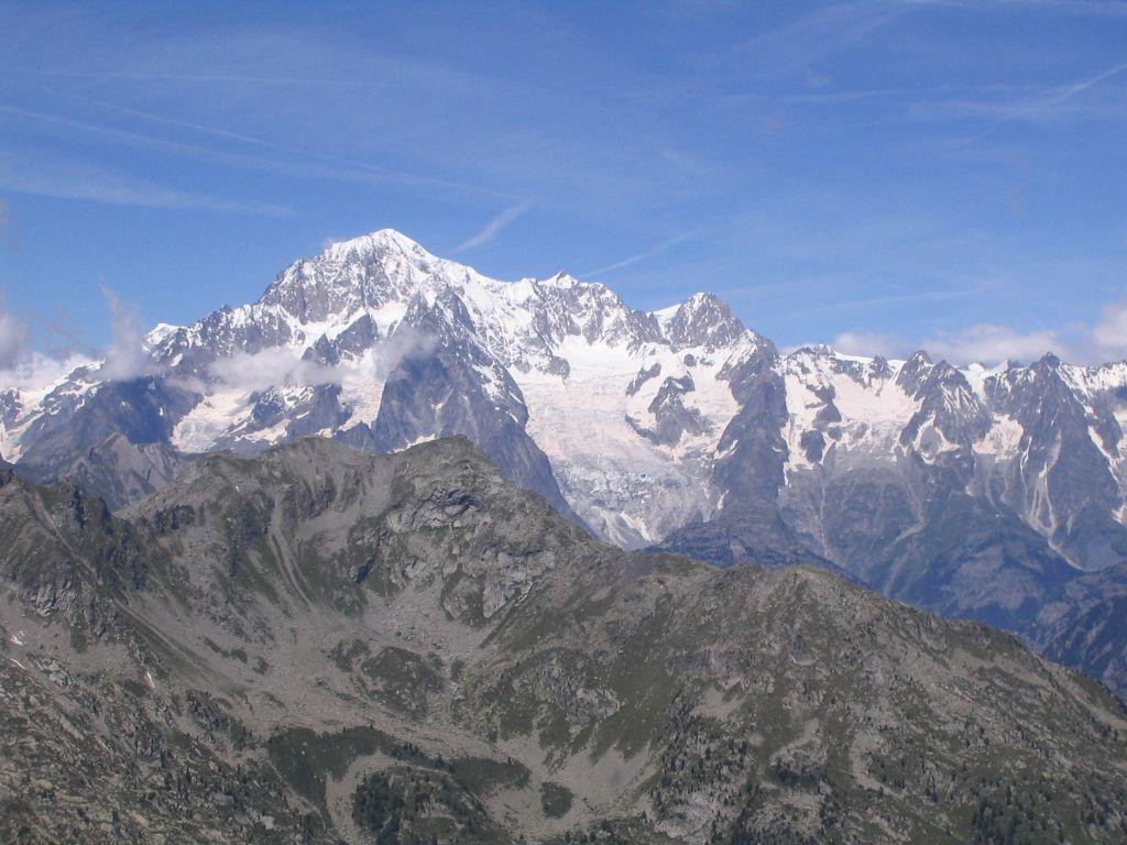 Il Monte Bianco dal Col de la Crosatie