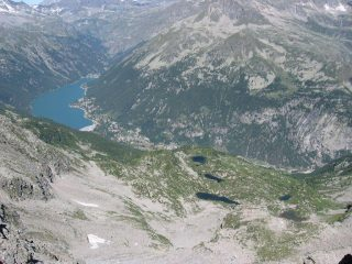 I Laghi Bellagarda e Ceresole, visti dal M. Unghiasse