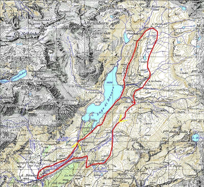 Satta (Alpe) da Alpe Devero, anello del Grande Est 2008-07-24