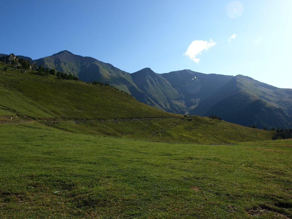 Il Monte Palon dalla partenza