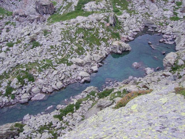 il lago verde superiore