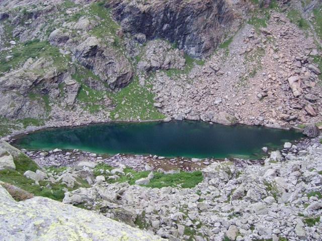 il lago verde inferiore