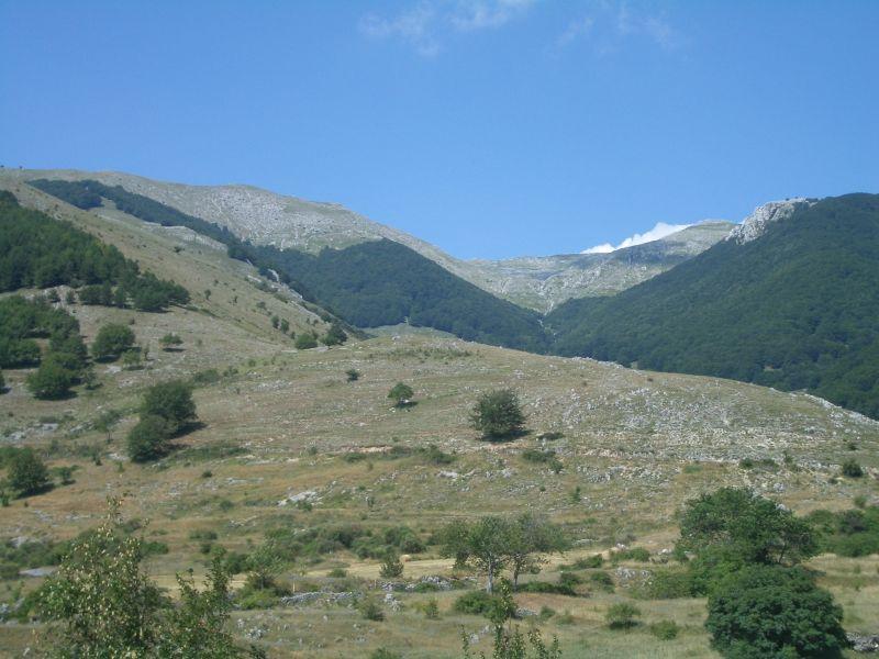 Altiera (Rocca) dal Valico La Rocca 2008-07-27