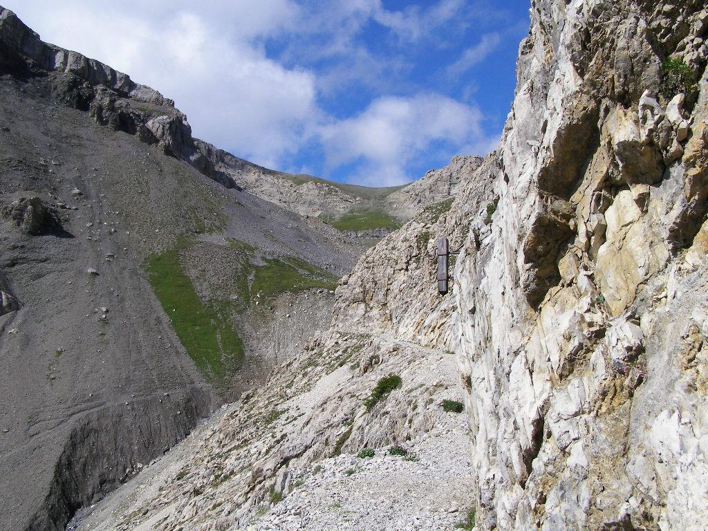 Dalla Rocca Tagliata al Colle, si pedala poco