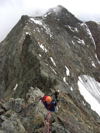 Punta FOntanella NE dalla cima del Dragone