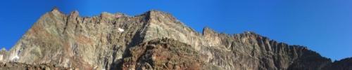 La cresta dalla Punta Fontanella al Monte Dragone