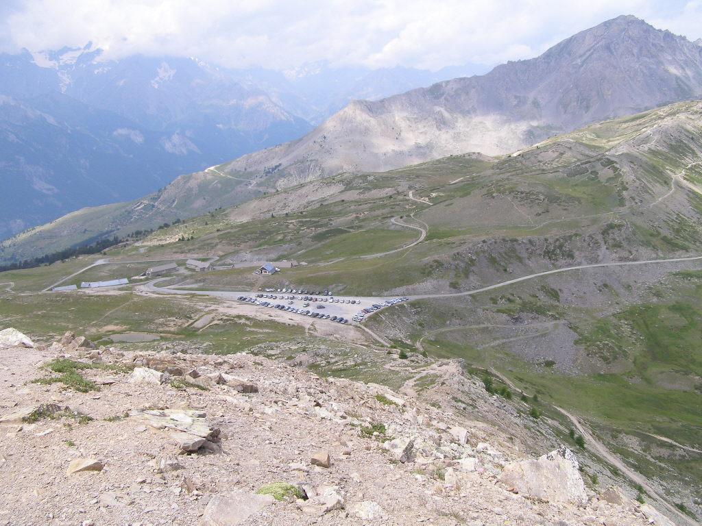 Col de Granon e i sentieri che partono da qui
