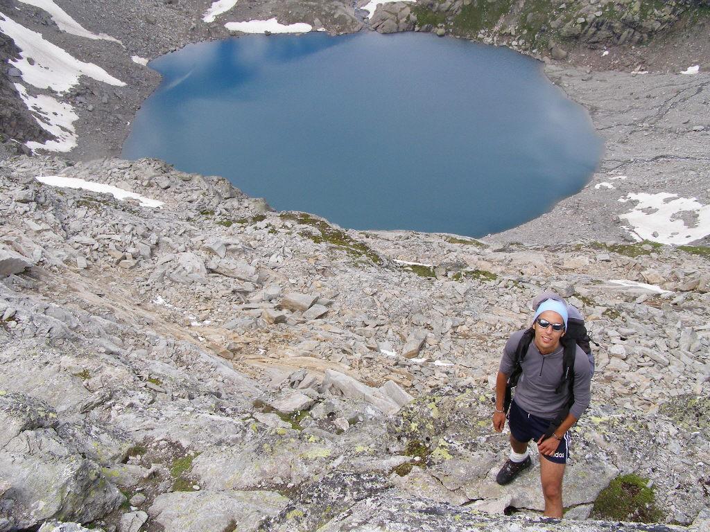 Danilo ed il Lac du Fond d'Ambin