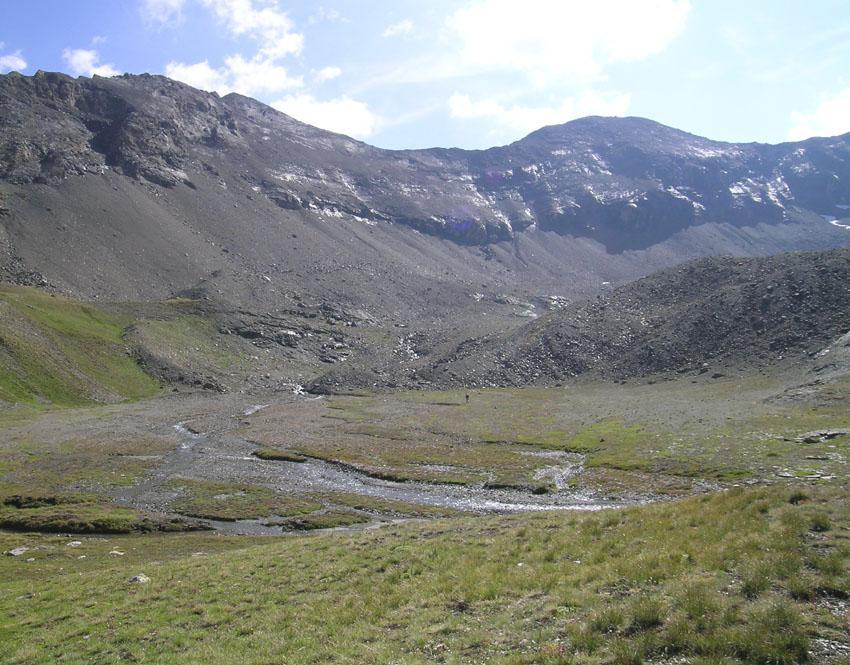 ex lago terminale ghiacciaio Tessonet